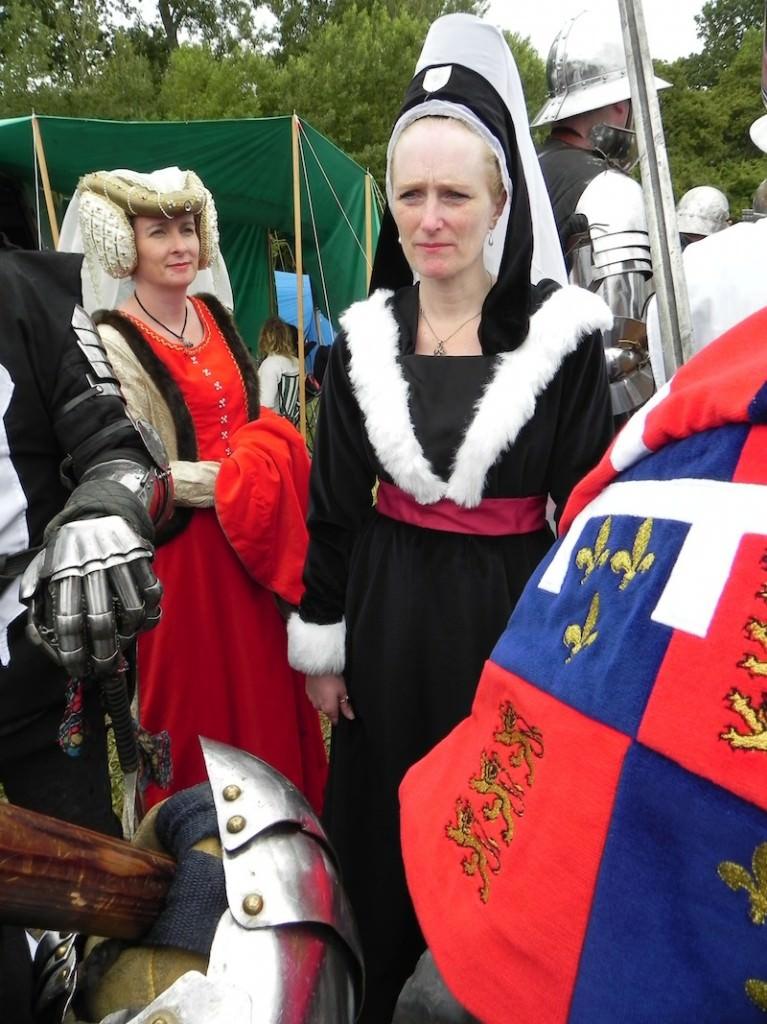 Tewksbury re-enactment costumes