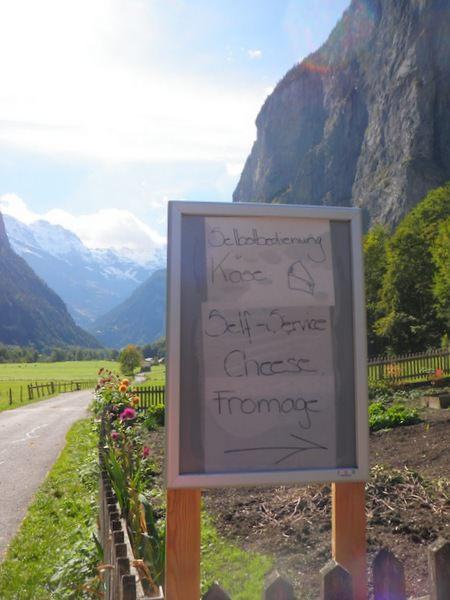Alpine cheese stop