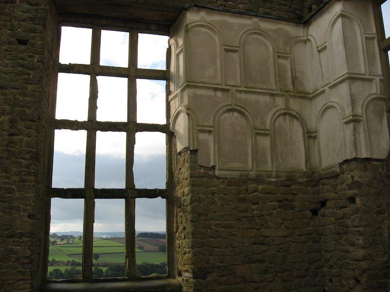 Window in Hardwick Old Hall