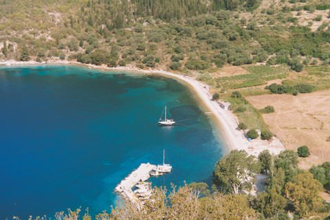 Ithaka from above