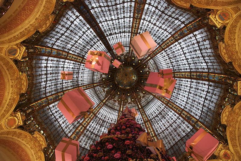 Les Galeries Lafayette in Paris