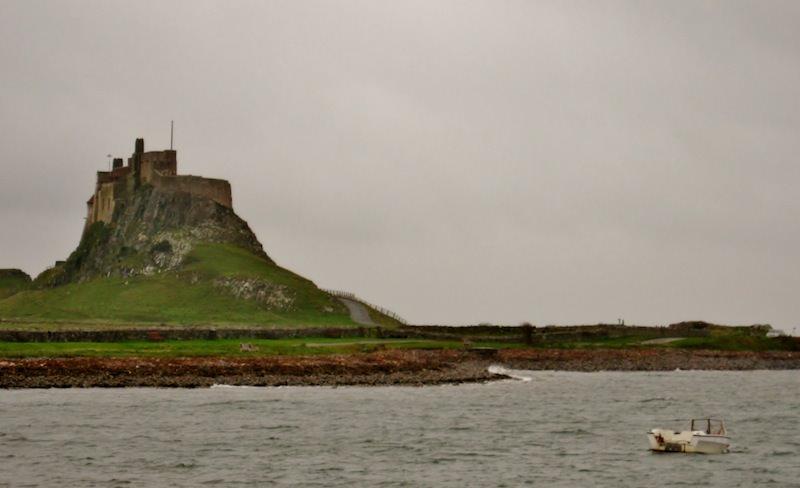 Remote Lindisfarne Island