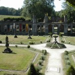 Herbal garden at Villers-Ville Monastery, Belgium