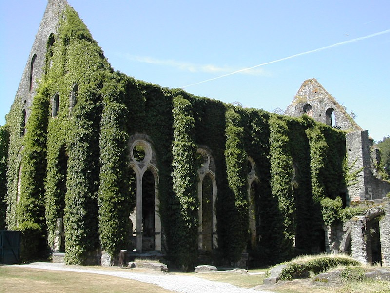 The Refectory at Villers-la-Ville Monastery, Belgium