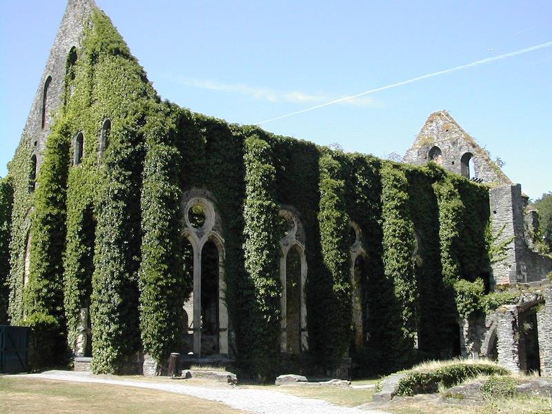The Refectory at Villers-la-Ville Monastery, Belgium
