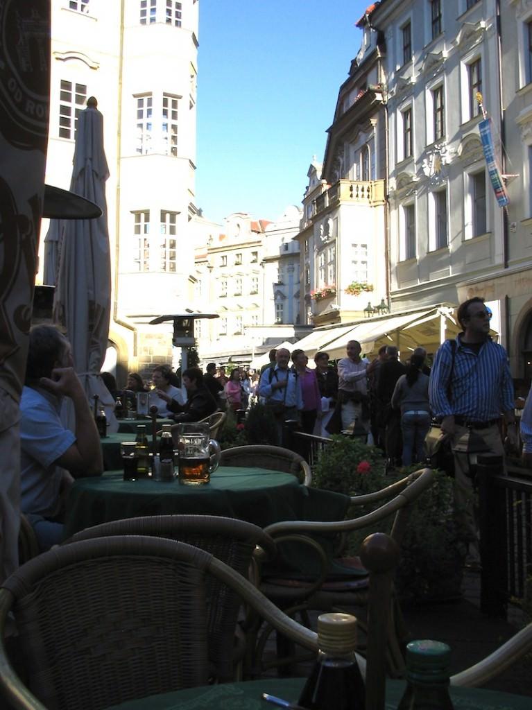Cafe Culture in Prague