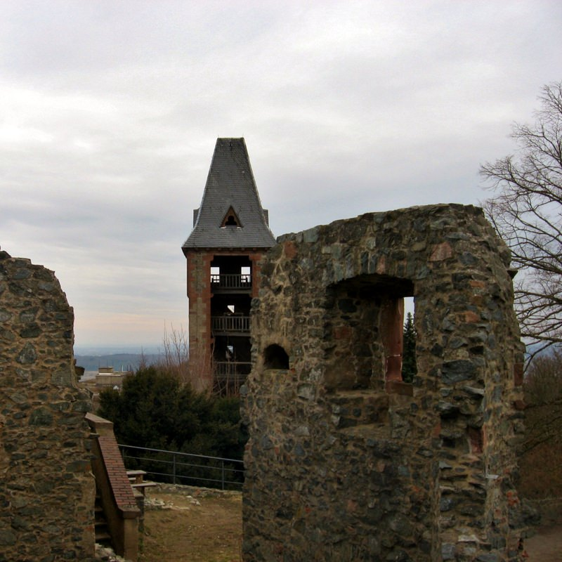 Castle Frankenstein Ruins