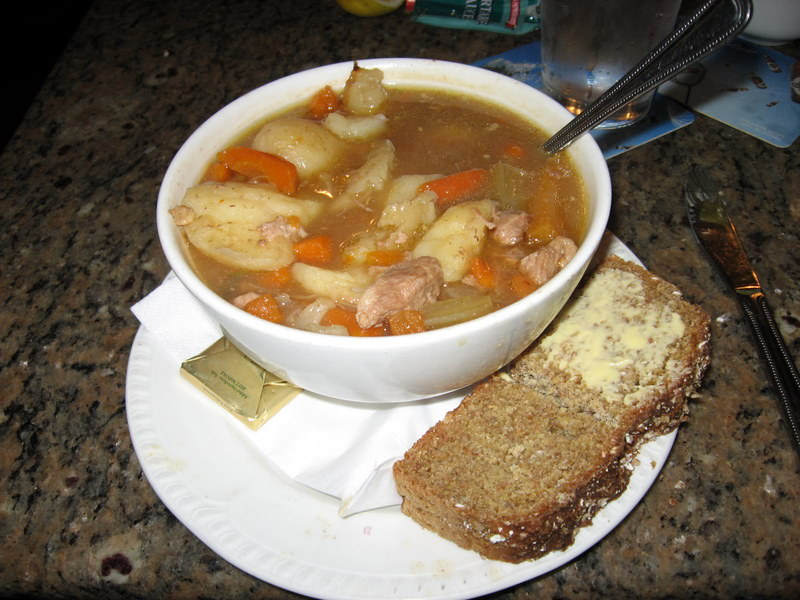 Guinness Stew with Guinness Bread