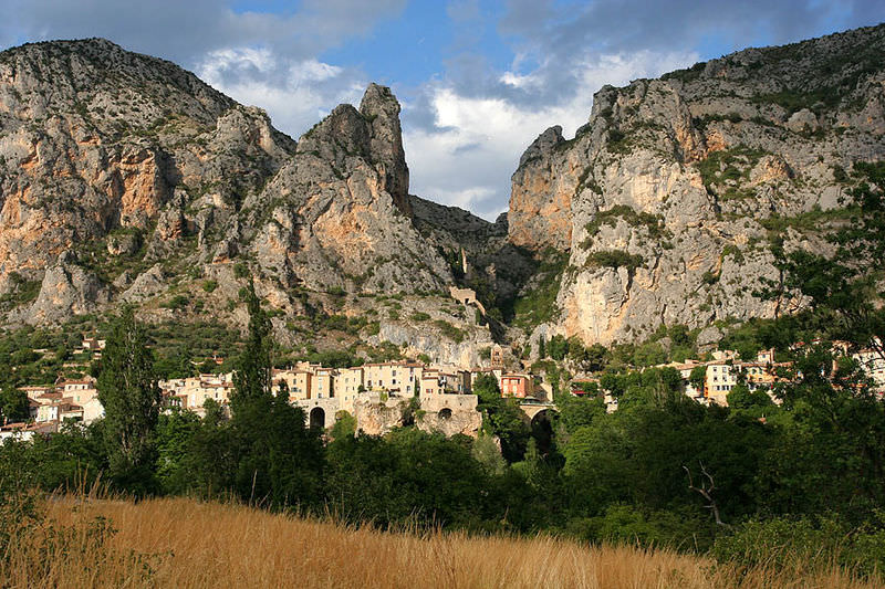 Moustiers Ste Marie - Provence, France