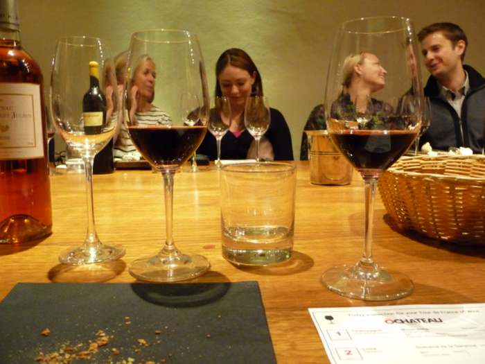Red WIne tasting at O-Chateau