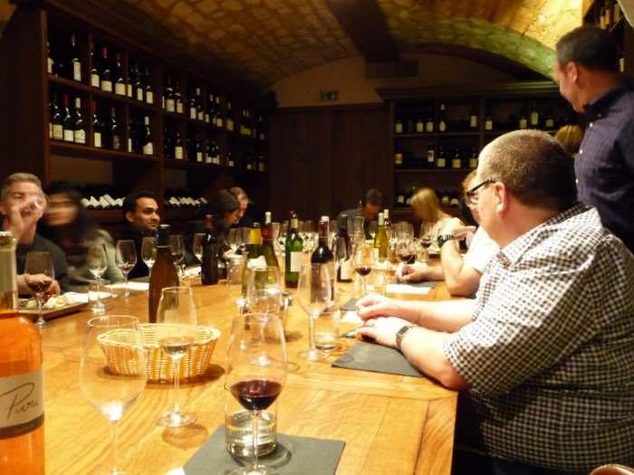 O-Chateau wine tasting group