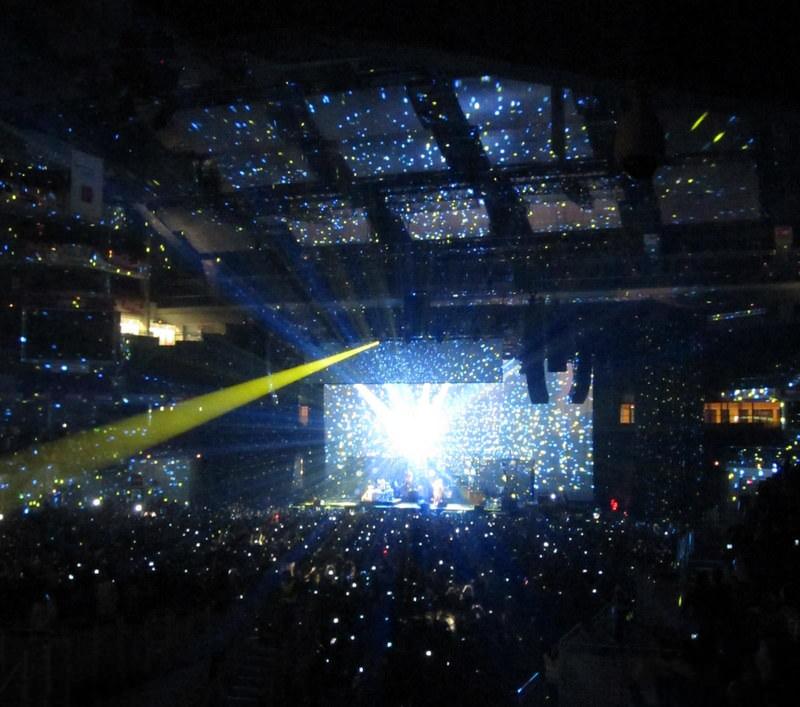 The Black Keys on stage