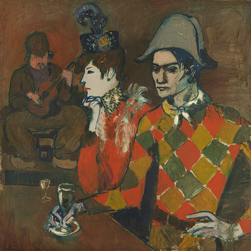 "Picasso's ""At the Lapin Agile"" from the Metropolitan Museum of Art"