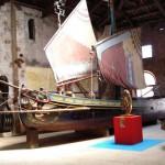 Ancient sailboat