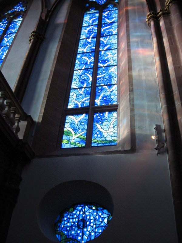 Dove Window in St Stephan's Church