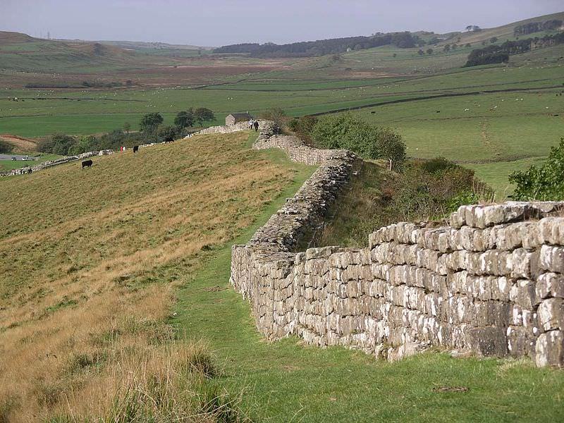 Hadrian's Wall at Greenhead Lough