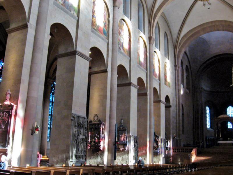 Interior of Mainzer Dom