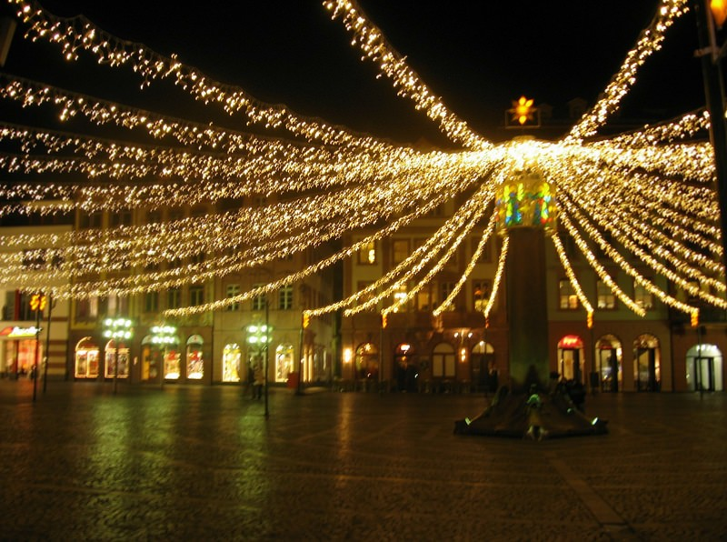 Mainz Plaza at Christmas