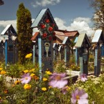 The Merry Cemetery is located in Sapanta. It is famous for its colourful tombstones with naive paintings describing, in an original and poetic manner, the persons that are buried there as well as scenes from their lives.