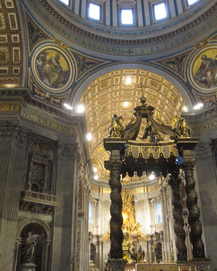 Michelangelo's Dome in St. Peter's Basilica, Vatican