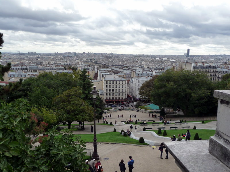 Paris from Montmartre
