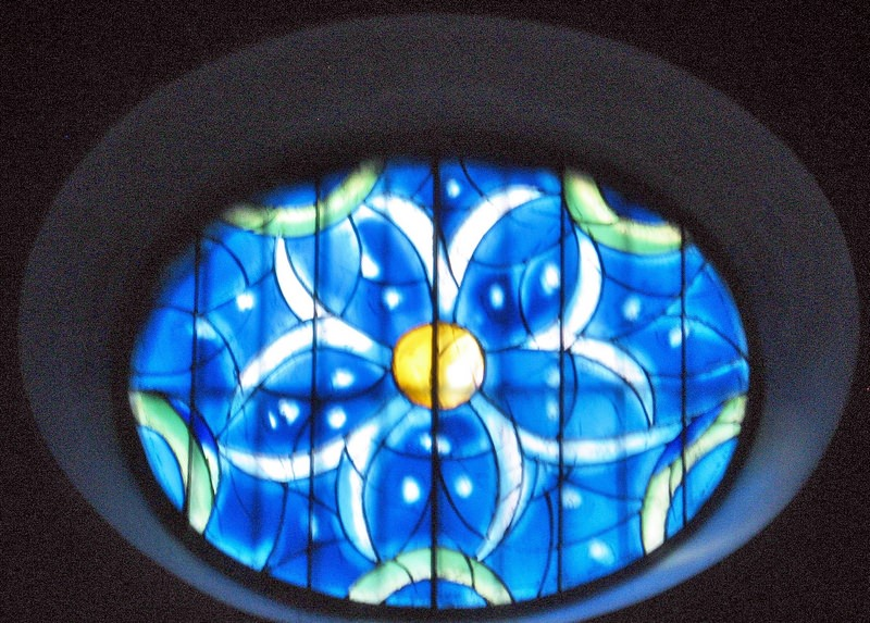 Chagall's Sun Window