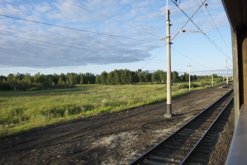 Trans-Siberian tracks