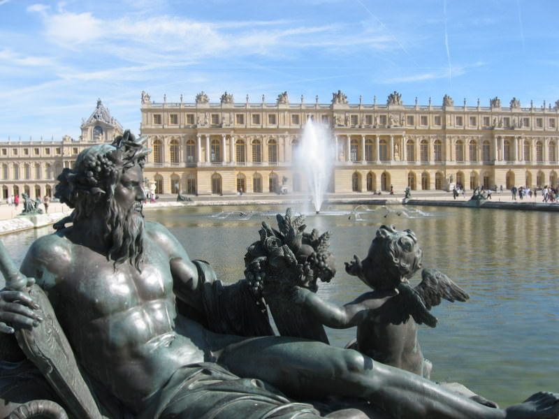Versailles with the Neptune Fountain