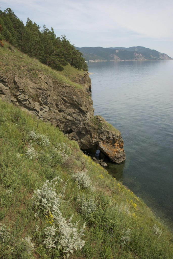 Western shore of Lake Baikal