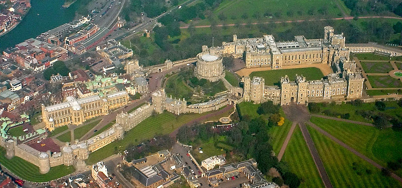 Windsor Castle from above