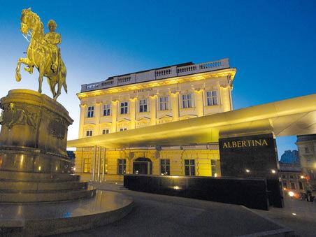 The Albertina in Vienna