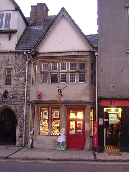 The Alice Shop in Oxford