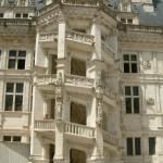 Chateau de Blois spiral staircase