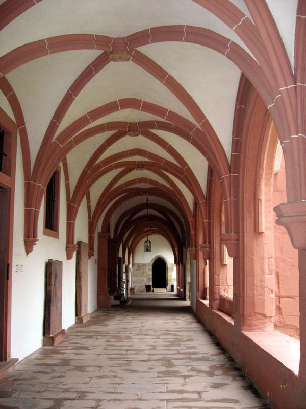 Cloister Walkway