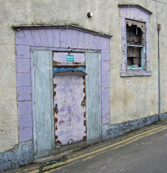 Exit Door of the old Oxford Cinema