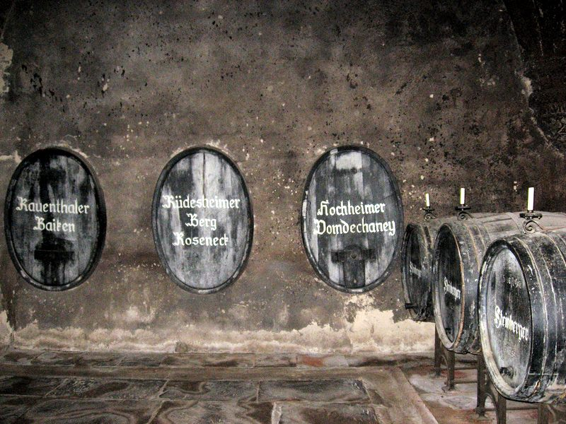 Historic Wine Barrels