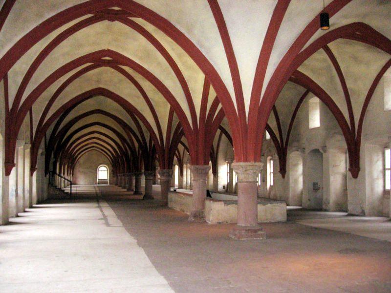 Monastic Dormitory