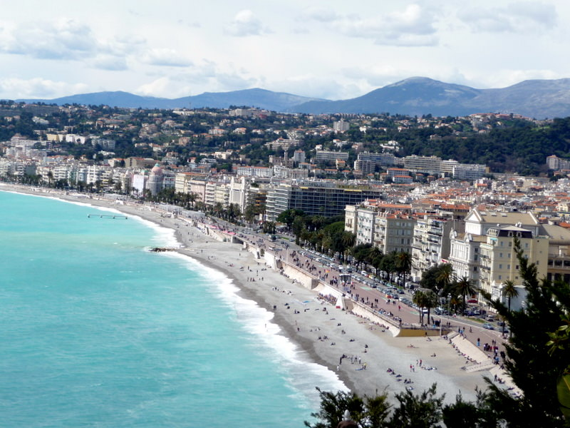 Nice on the Baie des Anges