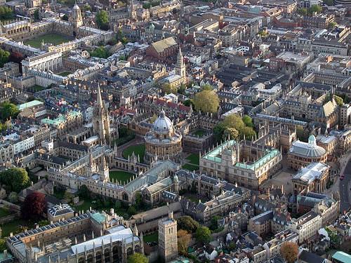 Oxford City Birdseye view