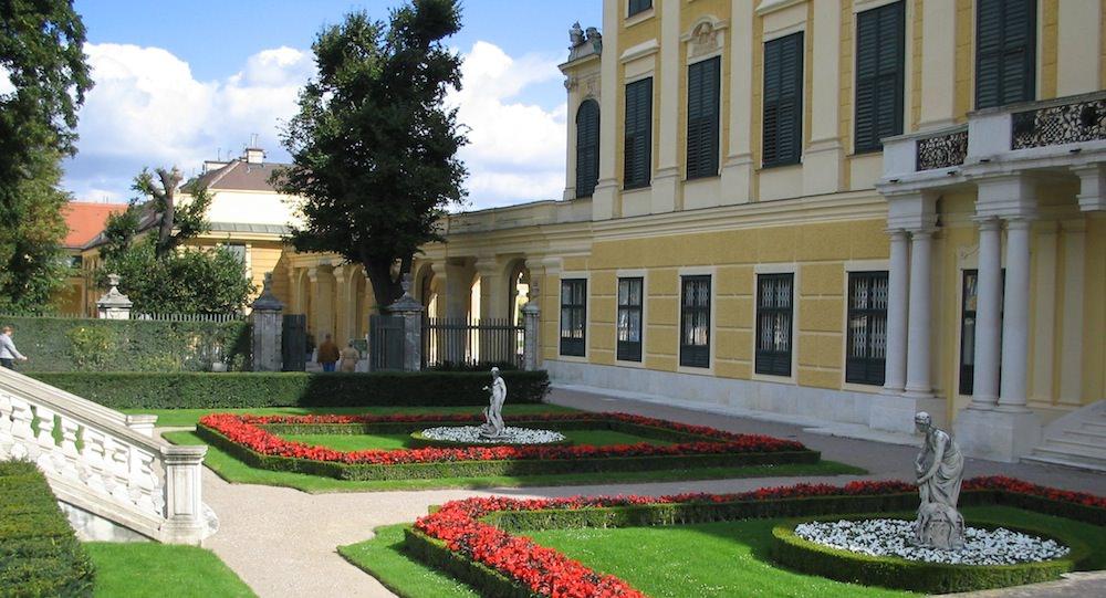 Schoenbrunn Palace gardens