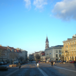View from the Rotušes, or town hall, square