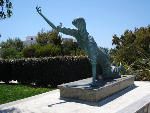 Statue of Supplicant on Tinos