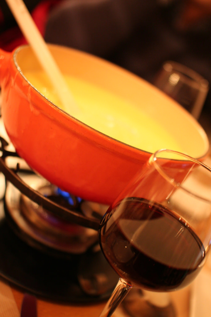 Tilted Fondue Pot by Robbie Shade