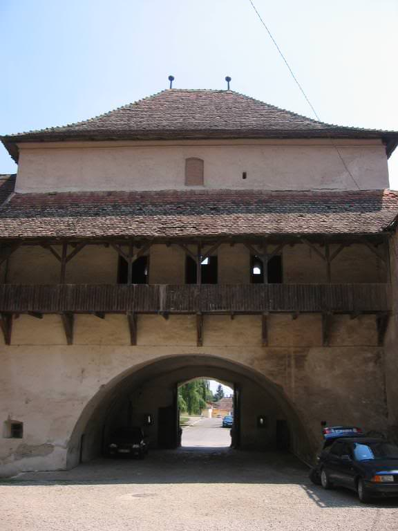 Fagaras Fortress from inside the outer wall