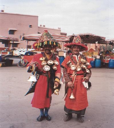 Teasellers Djamaa el Fna