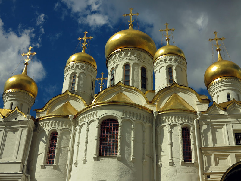 Annunciation Cathedral inside Kremlin walls