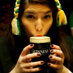 Drinking Guinness by BitchBuzz