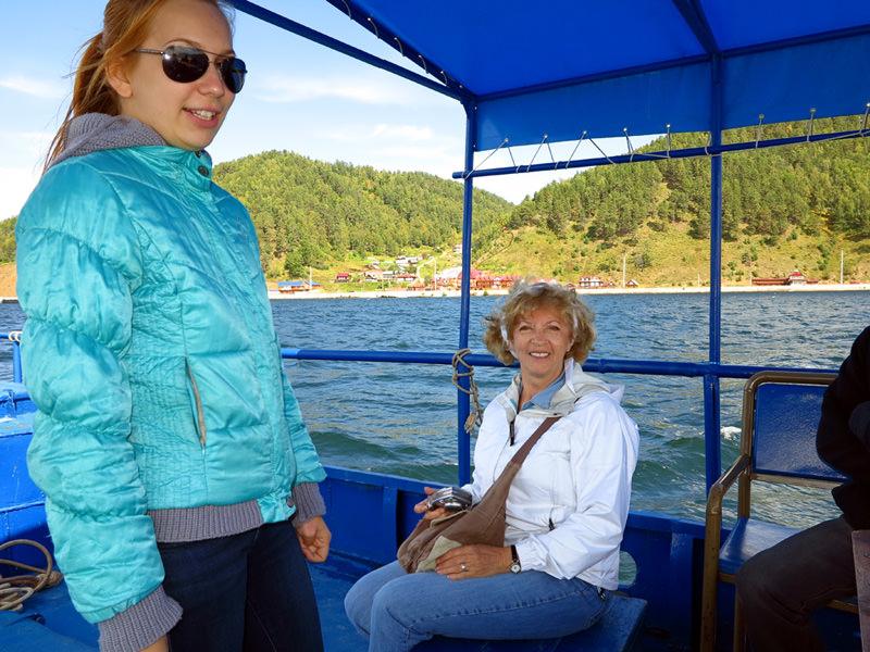 Guide Valentine, telling Baikal legends