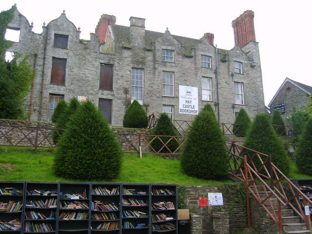Hay Castle Bookshop by Michael Graham