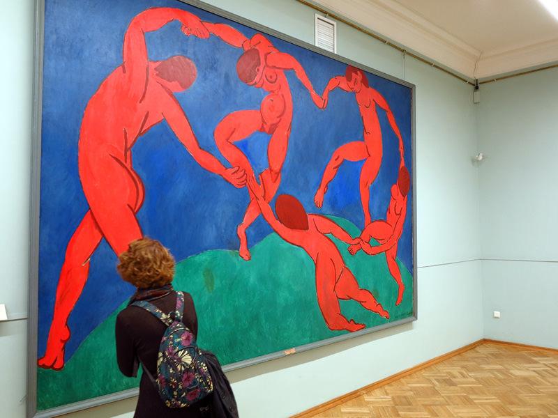 Henri Matisse's Dance, sans man-parts
